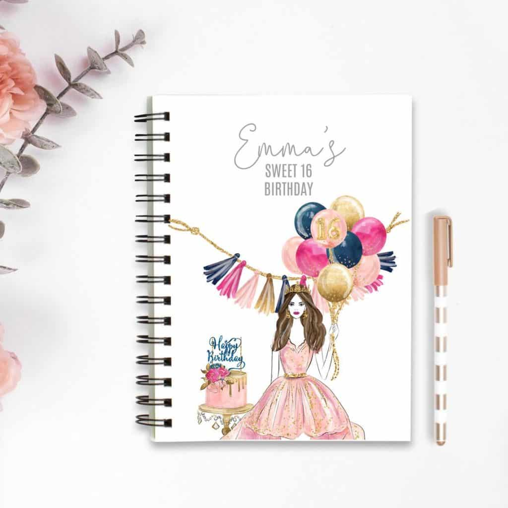 sweet 16 journal